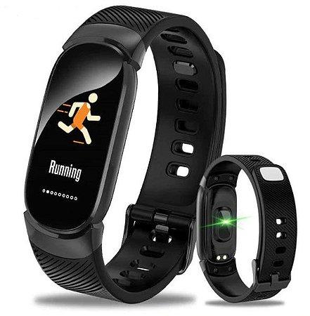 Relógio Smartwatch Pulseira Eletrônica QW16