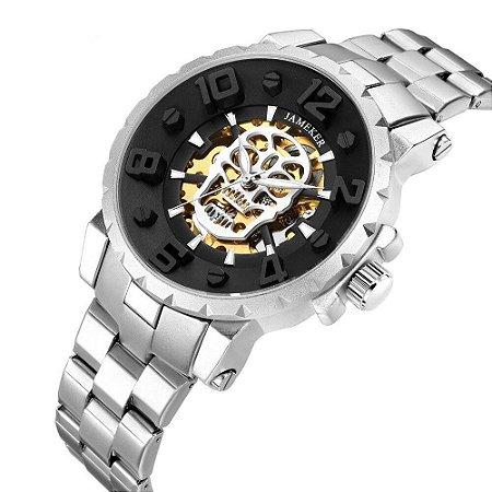 Relógio Automático Chronos - Aço Inox