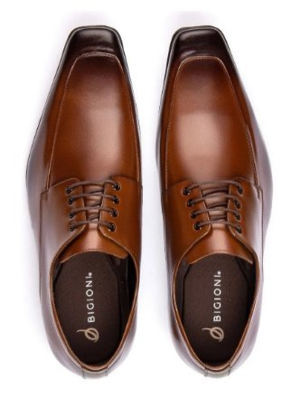 Sapato Social Masculino em Couro Legítimo - Bico Fino