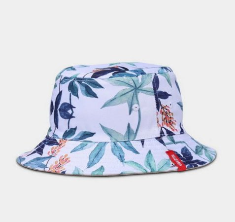 Chapéu estilo Pescador Dupla Face Nuzada