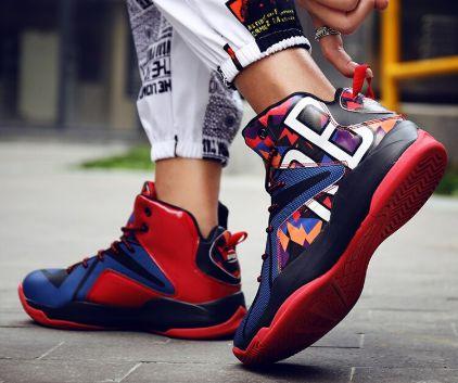 Tênis de Basquete Cano Alto Sneaker