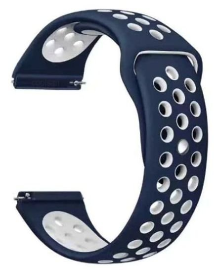 Pulseira em Silicone Para Relógios e Smartwatches - 22mm de Largura