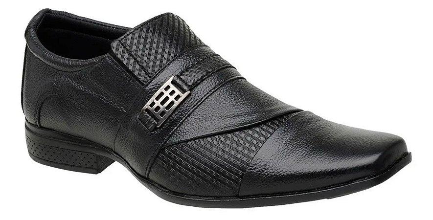 Sapato Masculino Social em Couro Trabalhado