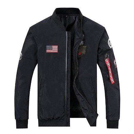 Jaqueta Masculina estilo Militar USA