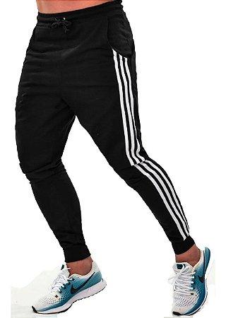 Calça Masculina De Moletom Jogger - Listrada