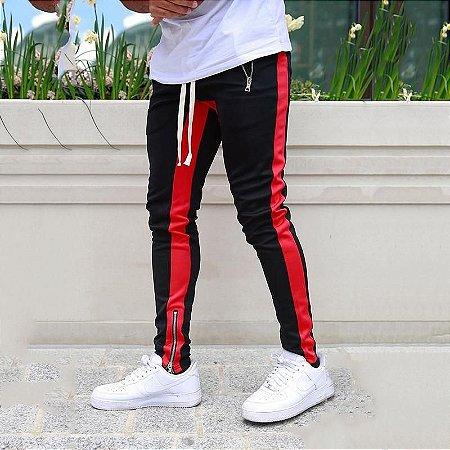 Calça Jogger Masculina com Zíper na Barra Colors