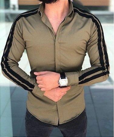 Camisa Social Masculina Trento