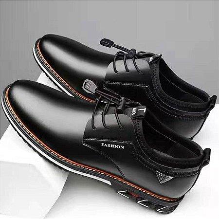 Sapato Mocassim em Couro Fashion Men 24H (36 ao 46)