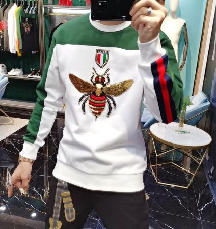 Blusa estilo Bomber King Bee Itália