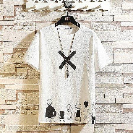 Camiseta Masculina X