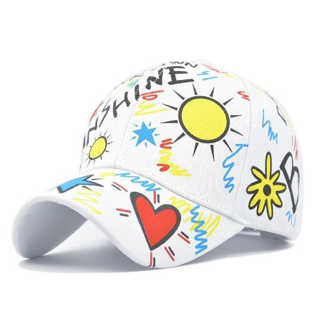 Boné Aba Curva Estampado Sunshine