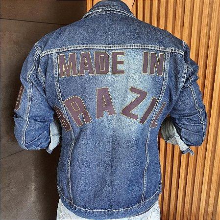 Jaqueta Jeans Masculina Made in Brazil