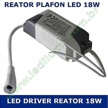 Reator Driver Plafon Led 18w Bivolt - LEDILUMI