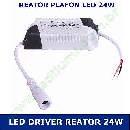 Reator Led Driver Plafon Led 24w Bivolt - LEDILUMI