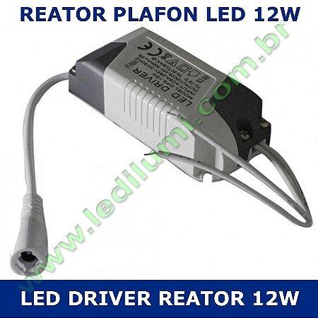 Reator Driver Plafon Led 12w Bivolt - LEDILUMI