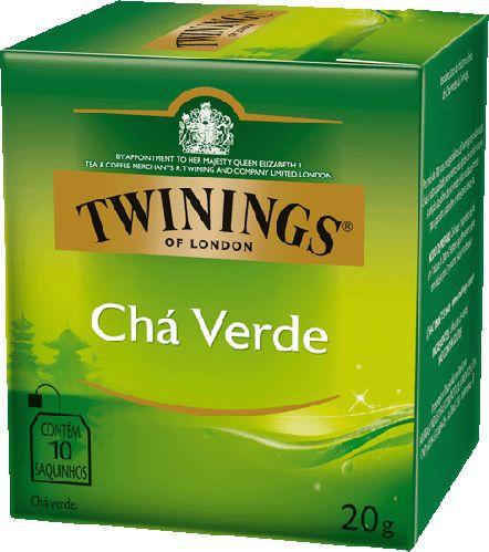 Chá Twinings Verde 10 sachês