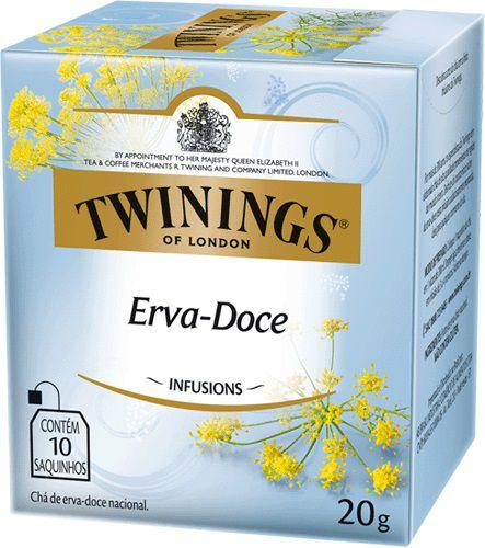 Chá Twinings Erva Doce 10 sachês