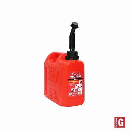 Unidade de Abastecimento Manual Wolf-Flow para Gasolina - 5L