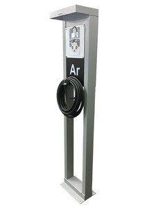 Calibrador de Pneus Eletrônico Com Pedestal