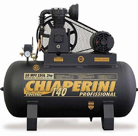 Compressor de Ar Profissional 10MPI/150 Litros Trifásico