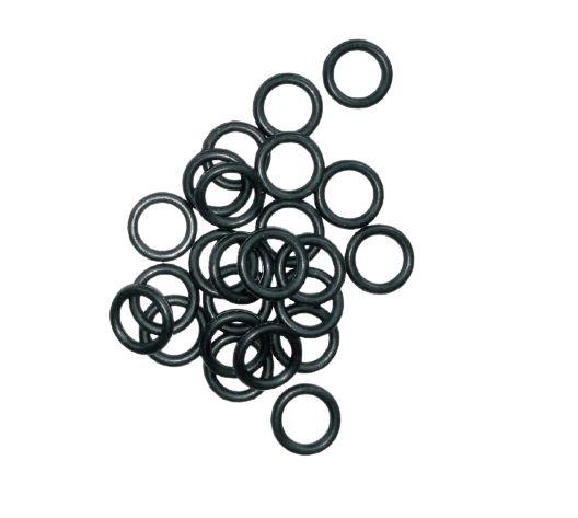Kit Anel O'Ring em Borracha Nitrílica Black Shore para Bico Dispenser GNV - 100 peças