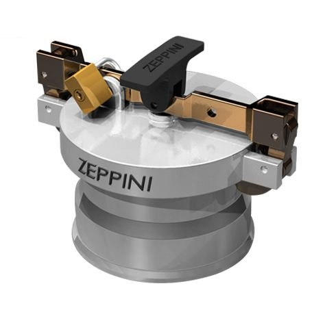"Conjunto para Descarga Selada - Zepinni 4"" - Alumínio"