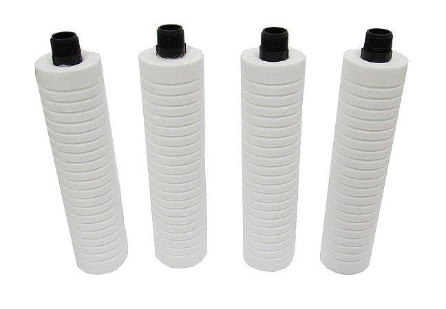 "Kit Elemento Filtrante para Filtro de Linha - Com Rosca de 3/4"""