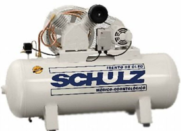 Compressor de Ar Odontológico schulz 3HP  250L - Monofásico