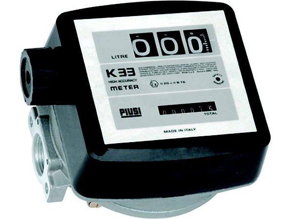 Medidor Mecânico à Prova de Explosão 3 Digitos - Vz de 20-120Lpm