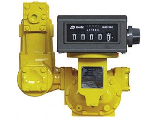 Medidor Registrador de Alta Vazão Mecânico Para Combustiveis - 3 Pol - 100 A 1000Lpm