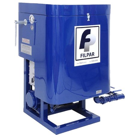 Filtro Prensa FPIV Vazão 14000 L/h com Reservatório 180 Litros