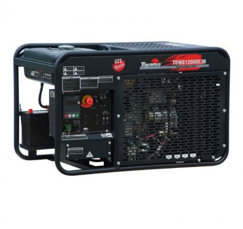 Gerador de Energia a Diesel 12,6 KVA - Trifasico 380v - aberto
