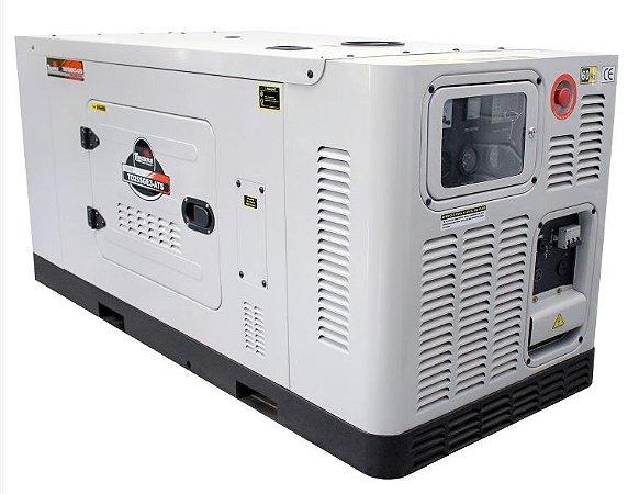 Gerador de Energia à Diesel  25 KVA 220/380V Trifásico - cabinado