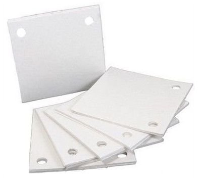 Papel Filtrante Quadrado 12x12 com 4 Furos