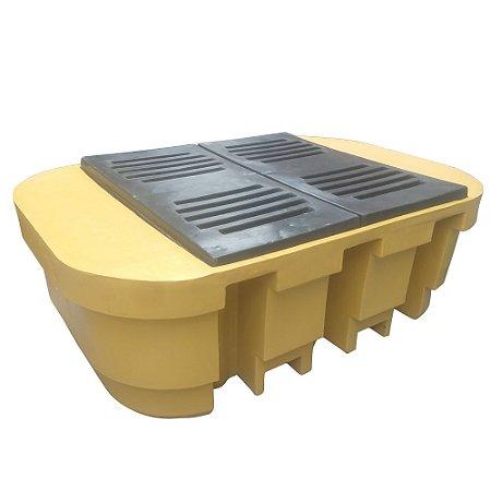 Bacia de Contenção para IBC - 1000 Litros - Amarela