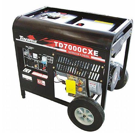Gerador de energia à diesel 6 kva monofásico - Bivolts