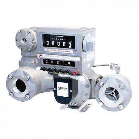 Medidor Mecânico para Aviação Com Filtro - 150 L/Min