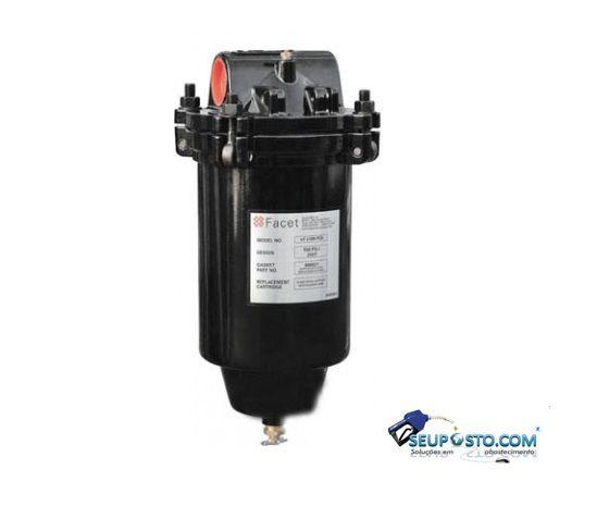 Filtro com Elemento Filtrante para Absorção de Partículas e Separação de Vapor