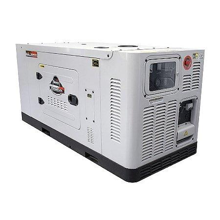 Gerador de Energia a Diesel 380V Trifásico 25 KVA - Cabinado Silencioso