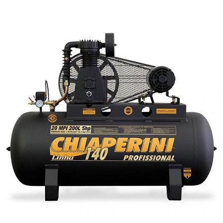 Compressor de Ar Industrial 20 Pés Capacidade 200 Litros  - Trifasico - media pressão