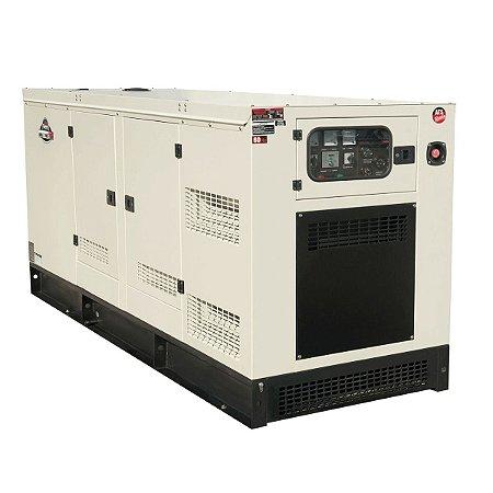 Gerador de Energia à Diesel 62,5KVA Trifasico 380V -Cabinado