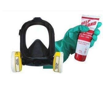 Mascara para Benzeno + Creme de Mão + Luva Nitrilica