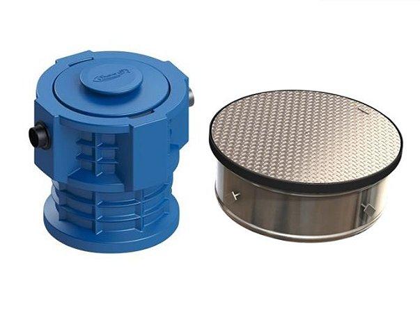 Caixa Separadora de Água e Óleo + Câmara de Calçada 28 Trafegável