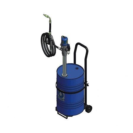 Propulsora Pneumática Óleo com reservatório de 50 litros + Medidor Digital + Acessórios