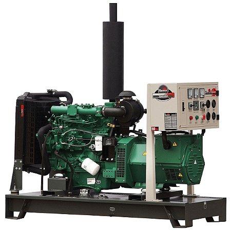 Gerador de energia 30 kva à diesel partida elétrica trifásico 220V - Toyama
