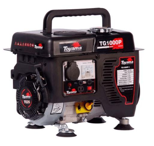 Gerador de Energia Gasolina 4T Partida Manual 0,8 Kva 220V Carregador de Bateria
