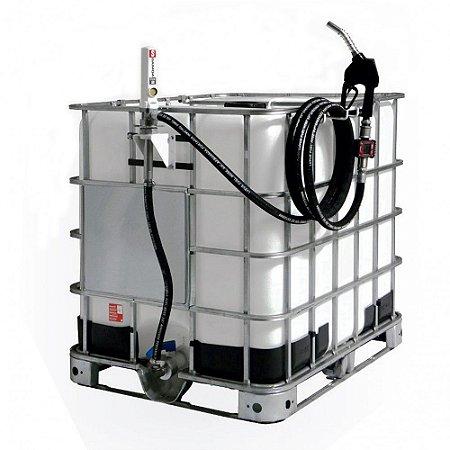 Unidade de Abastecimento Pneumática 60LPM Cap 1000L com Medidor Digital e Bico Automático