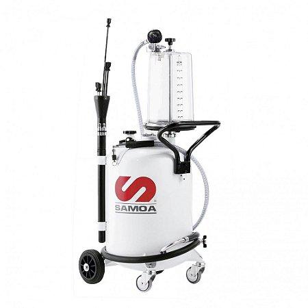 Unidade de Sucção de Óleo Pressurizada Capacidade 70 Litros