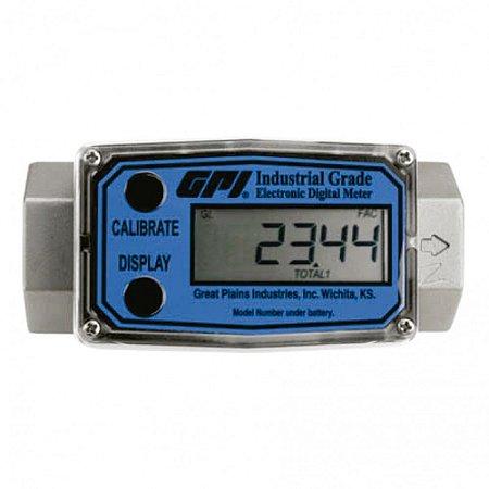 Medidor Digital Modular para Diesel Gasolina Querosene Etanol 75LPM 3-4 Polegadas NPT