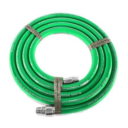 """Mangueira para Abastecimento Colorida 3/4"""" Com 5 Metros - Verde"""